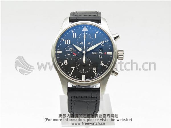 ZF厂万国飞行员计时皮带款IW377701