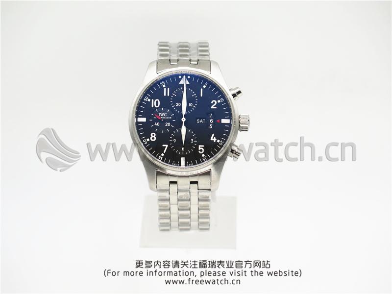 ZF厂万国飞行员计时钢带款IW377704