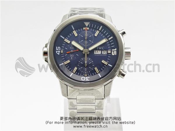 V6厂万国海洋计时蓝盘钢带IW376805