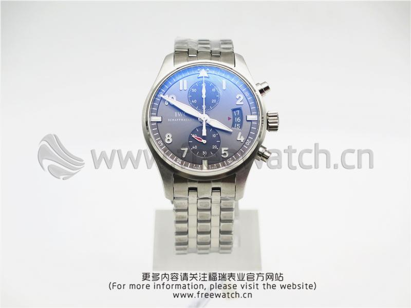 ZF厂万国飞行员计时喷火战机钢带款IW387804
