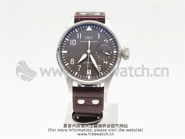 ZF厂万国飞行员大飞灰盘IW500402