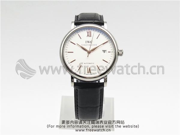 MKS厂万国柏涛菲诺玫白盘金针IW356517