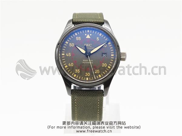 MKS厂万国马克十八陶瓷飞行员IW324702