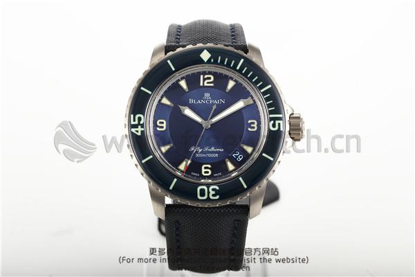 ZF厂宝珀五十噚5015D钛合金蓝色