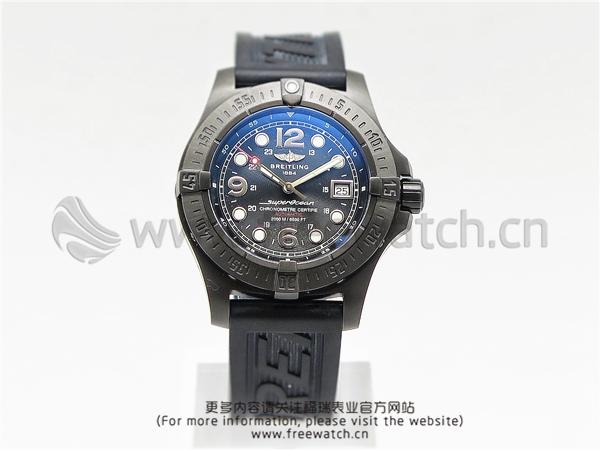 H厂百年灵超级海洋钢鱼黑色DLC