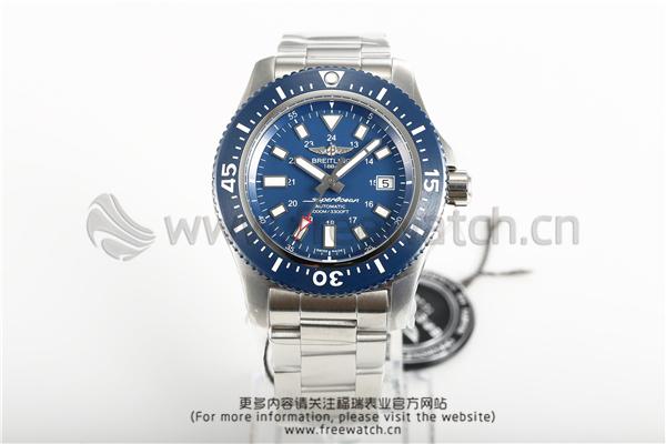 <b>GF厂V2百年灵超级海洋二代蓝盘钢带</b>