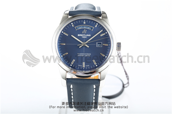 <b>V7厂百年灵越洋系列蓝盘</b>