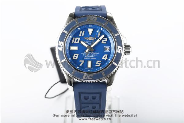 ZF厂百年灵超级海洋蓝色圈