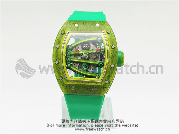 RM厂理查德米勒RM059博尔特绿胶带