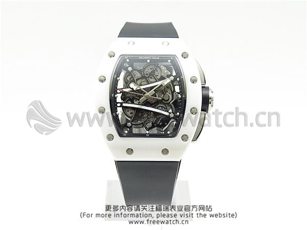 RM厂理查德米勒RM59-01白陶瓷