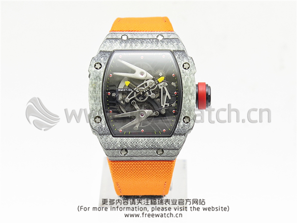 RM厂理查德米勒RM27-02碳纤维橙色