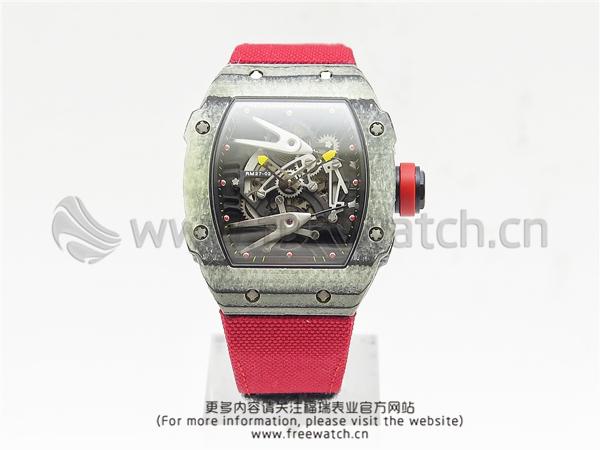 RM厂理查德米勒RM27-02碳纤维红色