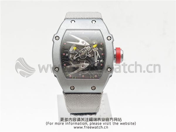 RM厂理查德米勒RM27-02碳纤维灰色