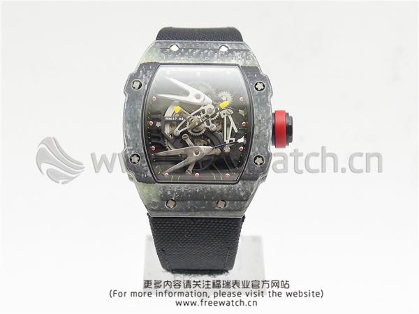 RM厂理查德米勒RM27-02碳纤维黑色