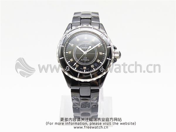 KG厂香奈儿J12系列黑陶瓷机械
